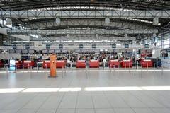 Flygplats av den Prague inre Arkivbilder