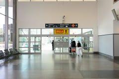 Flygplats av den Prague inre Royaltyfri Fotografi