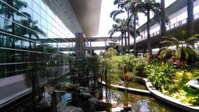 Flygplats av guayaquil, naturlig och arkitektonisk garnering royaltyfria foton