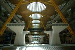Flygplats av Madrid Arkivbild