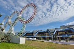 Flygplats av Sochi Arkivbild