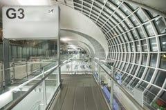 flygplats bangkok Arkivfoto