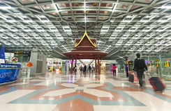 flygplats bangkok Royaltyfri Fotografi