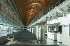 flygplats barajas madrid Arkivbild