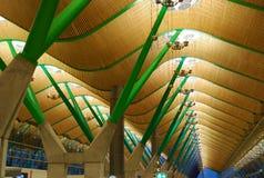 flygplats barajas madrid spain arkivbild
