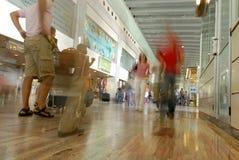 flygplats barcelona Arkivfoto