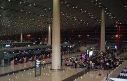 flygplats beijing Fotografering för Bildbyråer