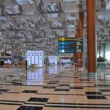 flygplats changi singapore Arkivbild
