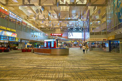 flygplats changi singapore Royaltyfri Fotografi