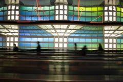 flygplats chicago Royaltyfri Fotografi