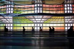 flygplats chicago Arkivbild