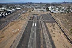 flygplats Deer Valley Arkivfoto