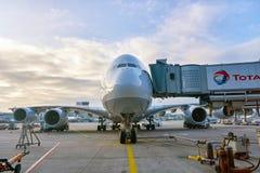 flygplats frankfurt Royaltyfria Bilder