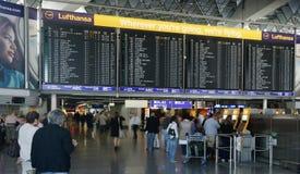 flygplats frankfurt Arkivbilder