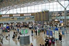 flygplats helsinki Fotografering för Bildbyråer