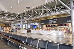 flygplats helsinki Royaltyfria Bilder