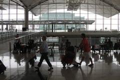 flygplats Hong Kong Arkivfoton