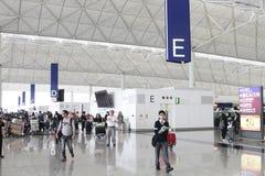 flygplats Hong Kong Royaltyfri Fotografi