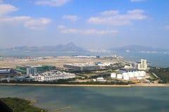flygplats Hong Kong Arkivbilder