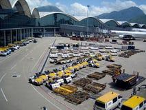 flygplats Hong Kong Arkivbild