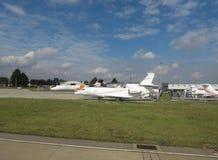 Flygplats i Luton Arkivbild