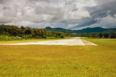 Flygplats i Pai royaltyfria foton