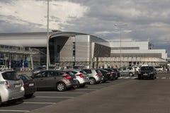 Flygplats i Poznan, Polen Royaltyfri Fotografi