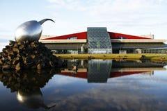 flygplats iceland arkivfoton