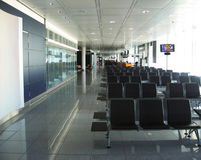 flygplats inomhus Royaltyfri Fotografi