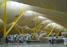flygplats madrid Royaltyfria Foton
