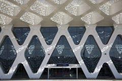 flygplats marrakech arkivbilder