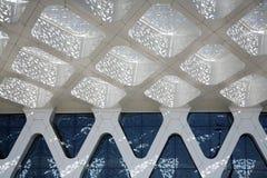 flygplats marrakech arkivfoton