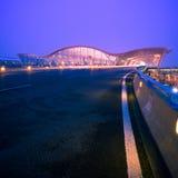 flygplats shanghai arkivbild