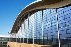 flygplats som bygger internationella shanghai Arkivfoton