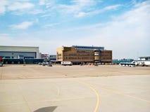 Flygplats Stuttgart, Tyskland royaltyfri bild
