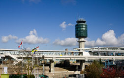 flygplats vancouver Arkivfoto
