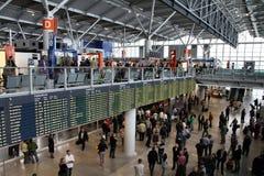 flygplats warsaw royaltyfria bilder