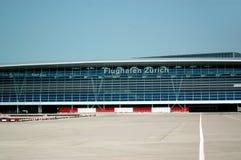flygplats zurich Royaltyfri Foto