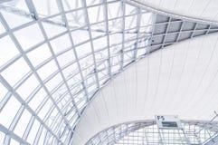 flygplatsarkitektur Royaltyfri Bild