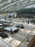 flygplatsarkitektur Arkivfoton