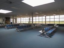 Flygplatsavvikelsekorridor i Ostrava fotografering för bildbyråer