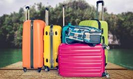 Flygplatsbagage Arkivfoton