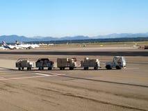 flygplatsbillast Arkivbilder