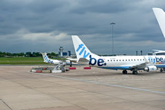flygplatsbirmingham international Arkivbild