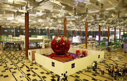 flygplatschangi international Royaltyfri Fotografi