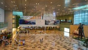 flygplatschangi international Arkivfoto
