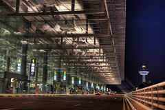 flygplatschangi t3 Royaltyfria Bilder