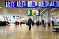 flygplatsdomodedovo Royaltyfria Foton