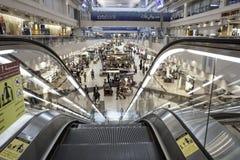 flygplatsdubai international Royaltyfri Foto