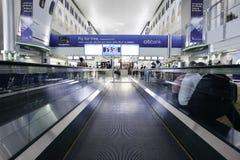 flygplatsdubai international Arkivfoto